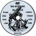 DVD. Archives des Cahiers Clairaut et compte-rendus des Ecoles d'été